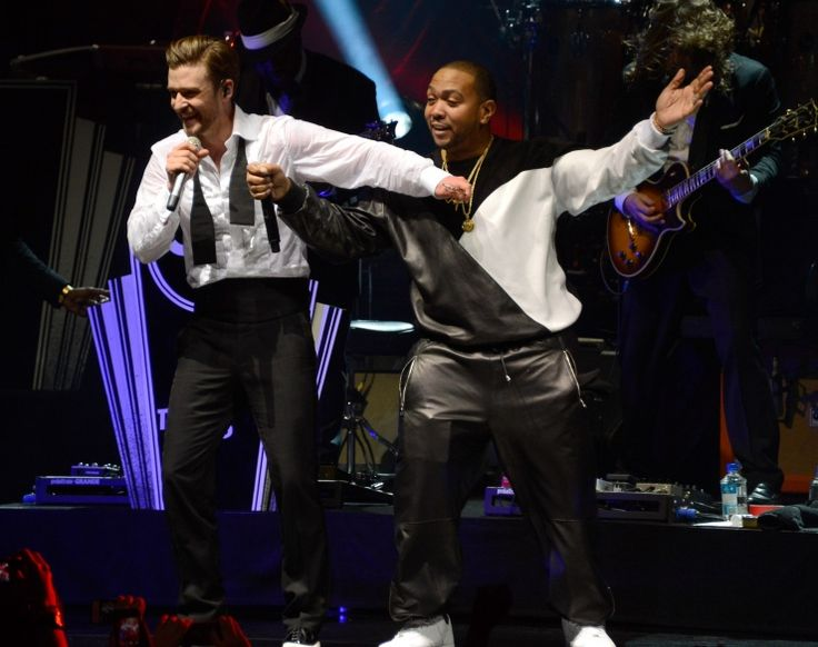 Justin Timberlake And Timbaland | GRAMMY.comPerforming Mastercard, Magic, Hop Beats, Justin Timberlake, Jt Performing, Timbaland Team, Roseland Ballrooms, Hip Hop, Medium
