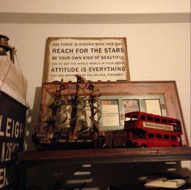 ロンドンバスのインテリア実例写真
