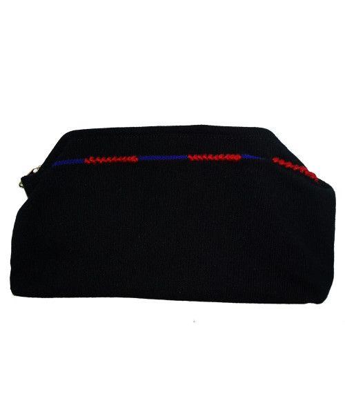 Barehand Ladies Zipper purse With Ao Motif