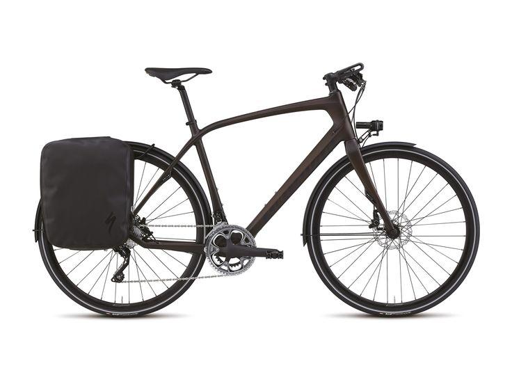Specialized Source Expert Carbon Disc 2015, Satin Tinted Brown Carbon/Gloss Brown Carbon - Trekkingrad im Biker-Boarder Shop kaufen