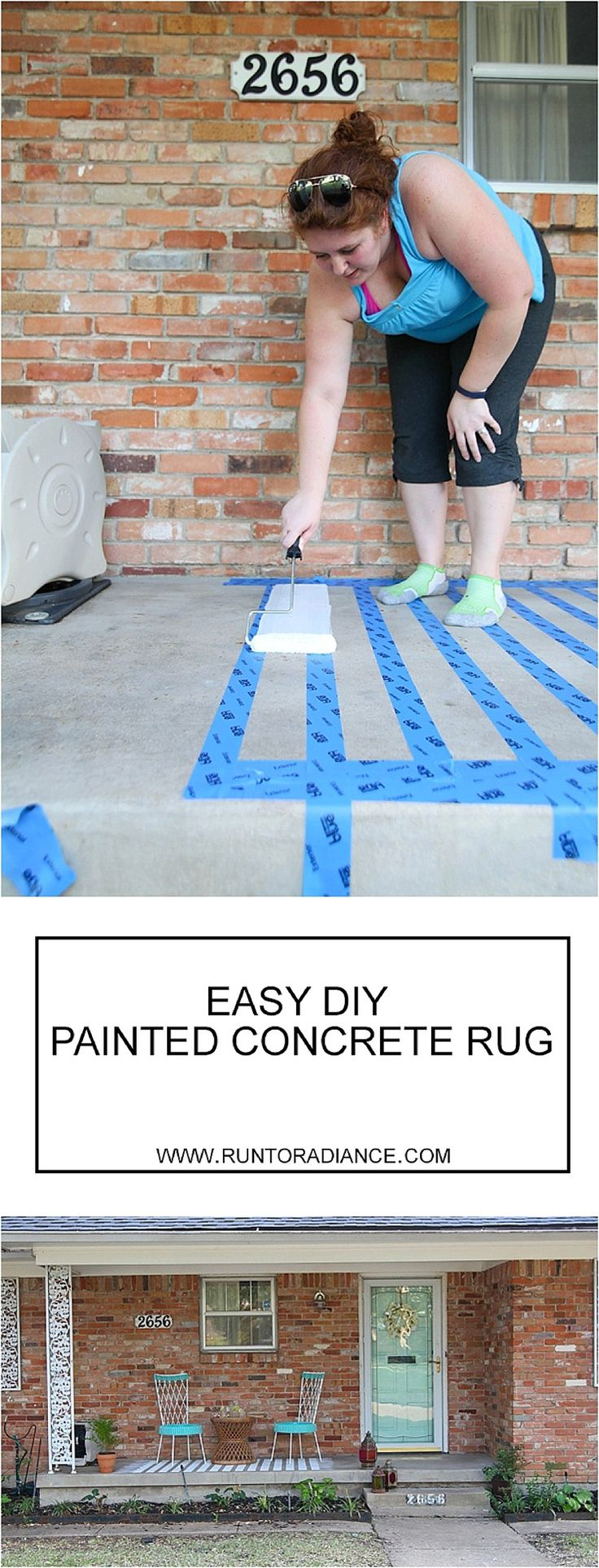 How To Paint Concreteu2014a Patio Makeover