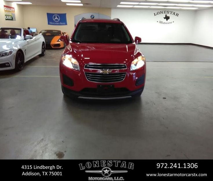 This 2016 Chevy TRAX has low miles and is in Excellent