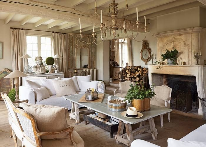 French Country Living Room Decor Pinterest Rooms And