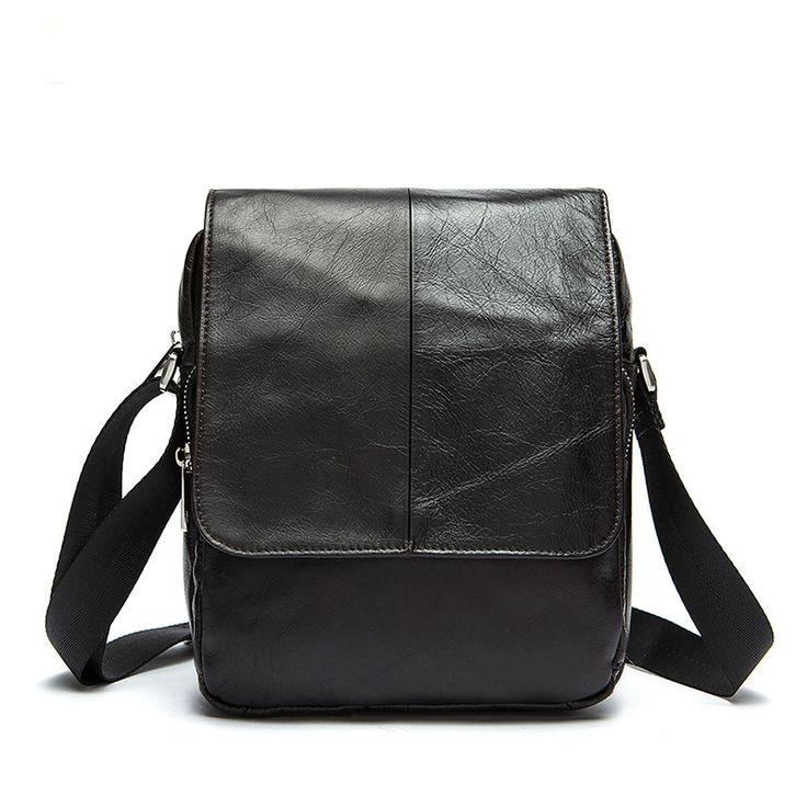 Senkey style Men's Leather Messenger 2016 New Fashion Genuine Cowhide Leather Men Bags Crossbody Shoulder Bag business bag