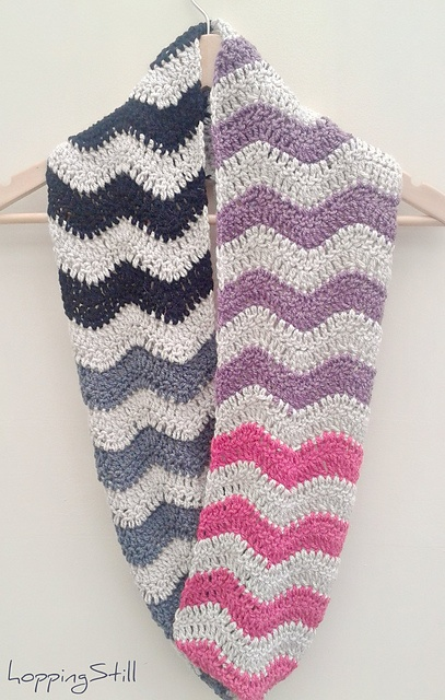 1000+ images about Crocheted Scarves, Cowls and Shawls on ...
