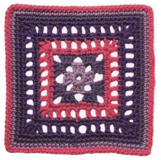 Patrón #1306: Calado a Crochet | CTejidas [Crochet y Dos Agujas]
