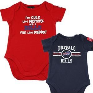 Buffalo Bills Baby Onesies