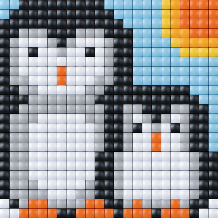 Penguins pattern - Pixelhobby / Pixelgift