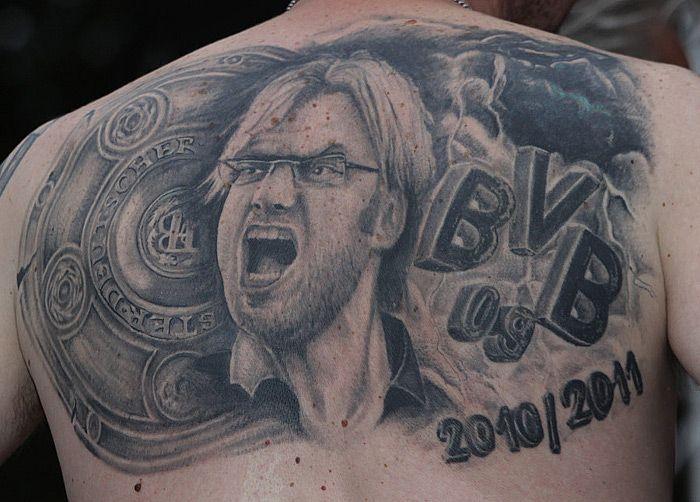 Borussia Dortmund Tattoo