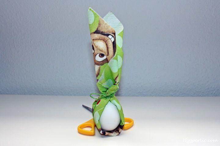 Ostern steht unmittelbar bevor und so haben wir uns eine nette Osterdekoration für den Morgen des Ostersonntag überlegt. Eier in jeder Form