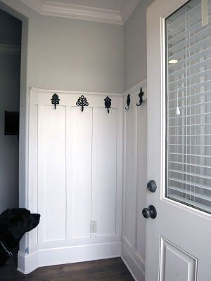 for the laundry room.entry idea