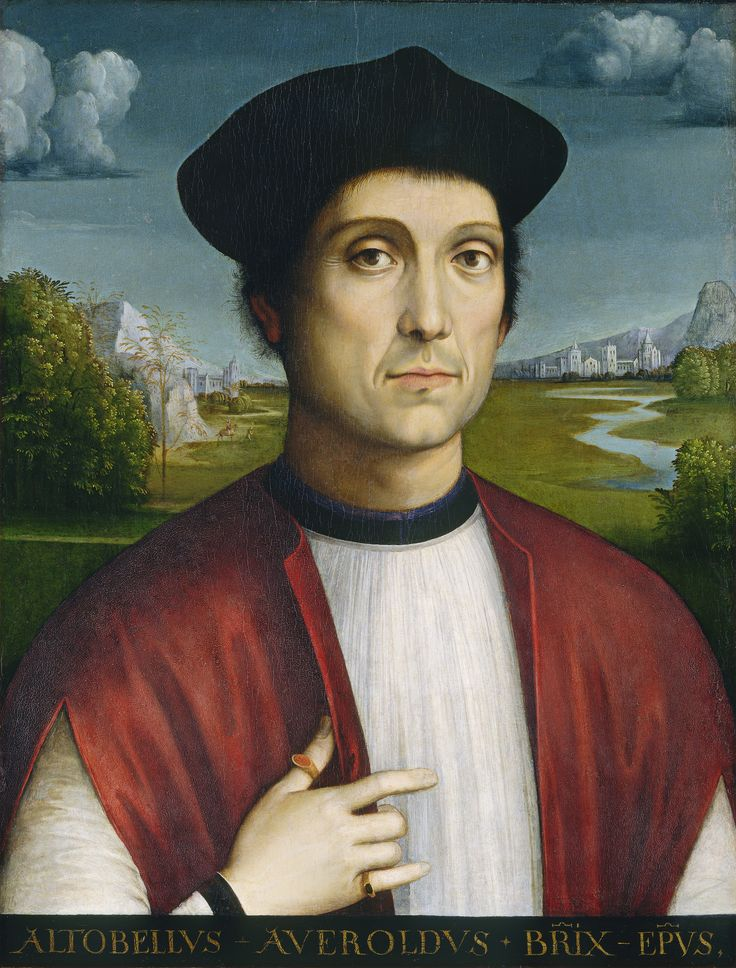 Francesco Francia, Bishop Altobello Averoldo, c. 1505, Washington, National Gallery of Art: