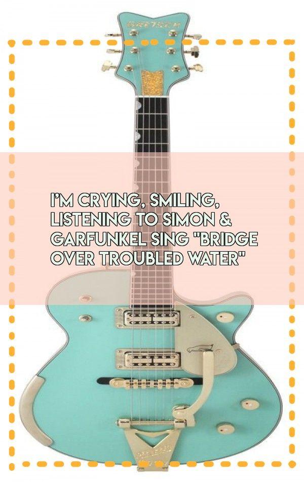 I M Crying Smiling Listening To Simon Garfunkel Sing Bridge Over Troubled Water Save Video Bridge Over Troubled Water Tik Tok Music