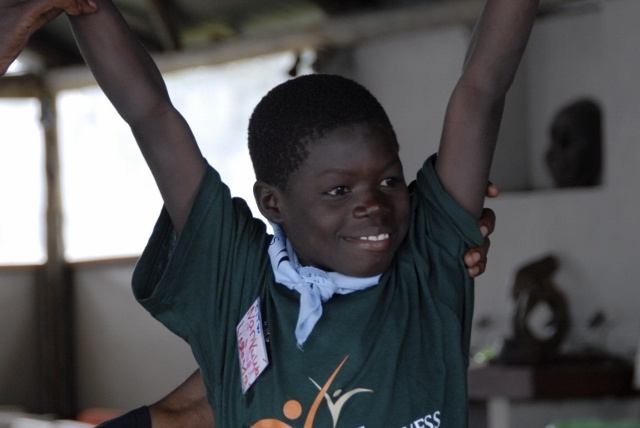 One of our stars and first Super Campers  is Nankuwa. A 10 year old boy from Mapoko School, who immediately stood out because of his enthusiasm and his ability to help others. A real leader and very bright. During the environmental workshop he constantly had his hand raised to either ask questions or to give the answers! A double orphan with no immediate family members, luckily he is part of the CITW family now ♥