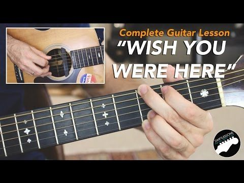"intro solo | how to play ""Wish You Were Here"" on guitar by Pink Floyd 