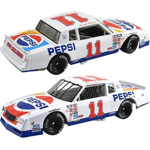 #11 Darrell Waltrip Pepsi 1983 Monte Carlo 1/24 Nascar Diecast Car Nascar Classics Lnc by Brickels. $72.95. NASCAR Classics Series Two years before winning his third NASCAR Cup Series championship for team owner JuniorJohnson future NASCAR Hall of Fame Darrell Waltrip got behind the wheel of the 1983 No. 11 Pepsi Challenger Chevrolet Monte Carlo.. Save 21%!