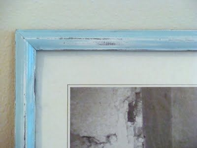 How to Paint & antique a photo frame... Sewing, Crafts, DIY, Tutorials, Home Decor | Handmade Designs from Shannon Sorensen Designs