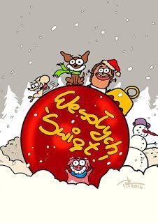 Z długopisa: Wesołych Świąt!