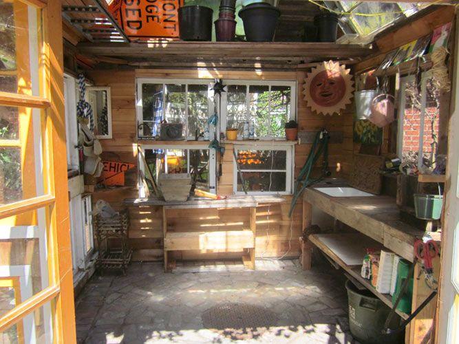 Garden Sheds Inside 39 best sheds images on pinterest