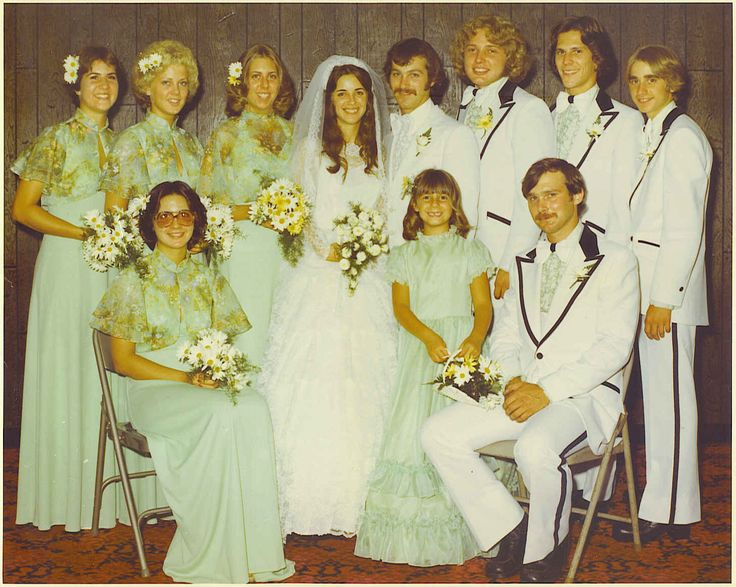 96 Best Images About 1970s Real Vintage Weddings On