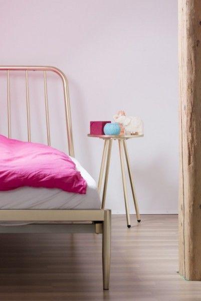 Alana Einzelbett, Kupfer | made.com