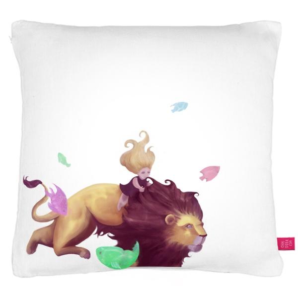 illustration pillow design