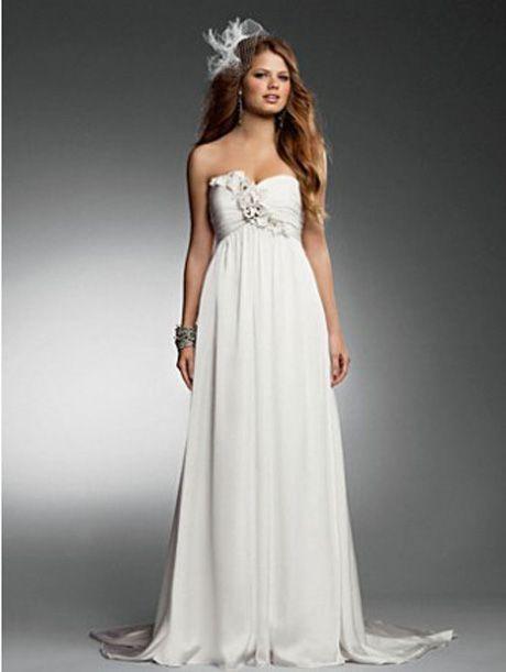 vestidos de novia para embarazadas - Buscar con Google