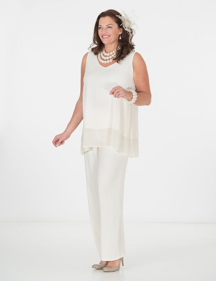 Tanita+cream+top+and+Remy+trouser