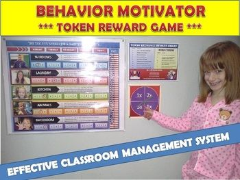 The BEHAVIOR MOTIVATOR game will suit all your needs as your child or students will be assigned specific tasks. Upon completion of those tasks they will earn specialized tokens. These tokens have many functions that will encourage them to continue their work and keep them engaged week after week after week. You KNOW your children best! While learning responsibility, the Behavior Motivator is a great reinforcer for positive behavior while earning rewards that YOU choose.