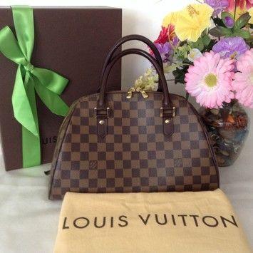 Louis Vuitton Ribera Mm Brown Bag - Satchel $950