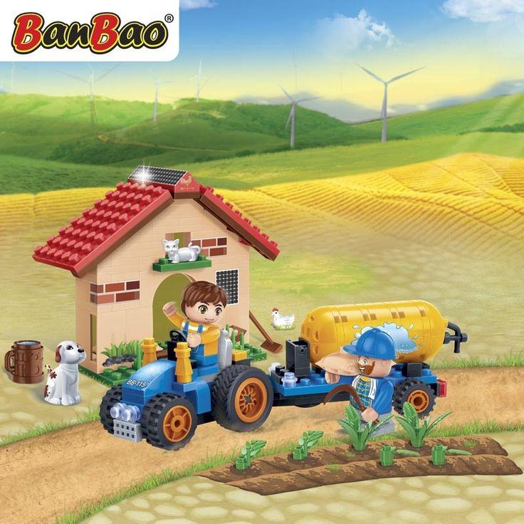 Tractor met giertank (8582)