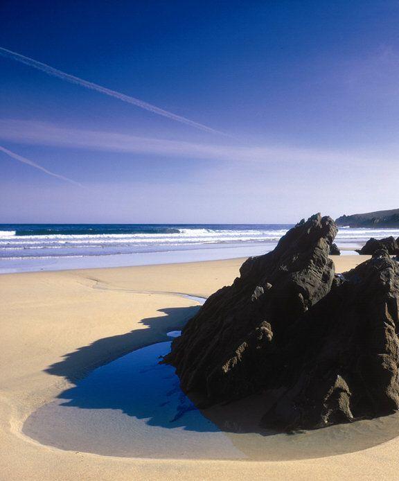 Playa de Serantes (Tapia de Casariego, Asturias)