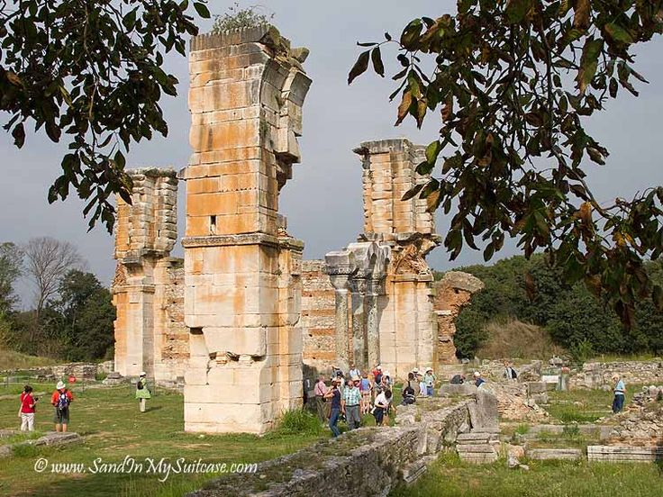 There's so much incredible rich history at the ruins of ancient Philippi in #Greece! http://www.sandinmysuitcase.com/ancient-philippi-ruins/