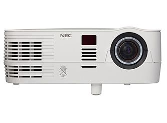 The NP-VE281 from NEC Display Solutions of America is a no-frills, lightweight data projector with very good data image quality, solid video quality, and loud, reasonably good sound.
