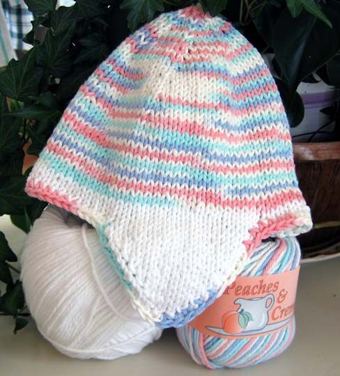 Loom Knit Baby Hat With Ear Flaps : Earflap hat knit pattern knitting pinterest