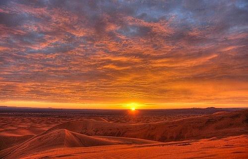 Sahara  30+ Breathtaking Sunrise Photos from Around the World