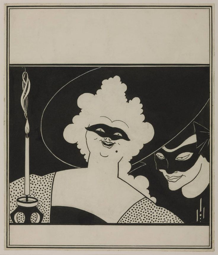 Aubrey Beardsley, 'Cover Design for the 'Yellow Book'' 1894