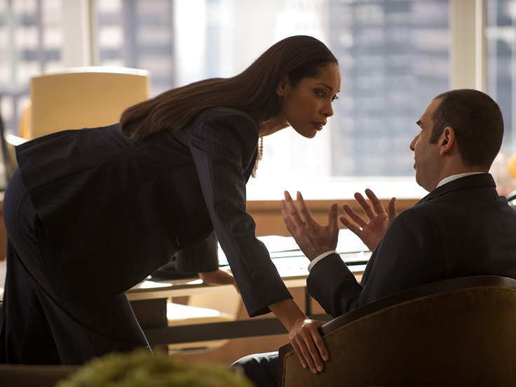 Suits Love Louis Litt Gina Torres Jessica Pearson Suits Tv Series