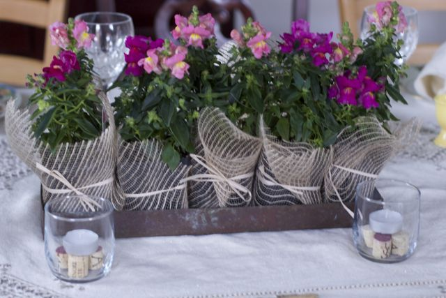 wine party centerpiece wine themed party dinner settings