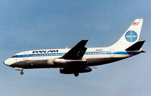 Boeing 737 of Pan Am