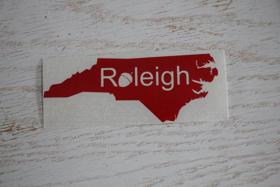 Nc home decal raleigh decal raleigh nc city of by entropysigns