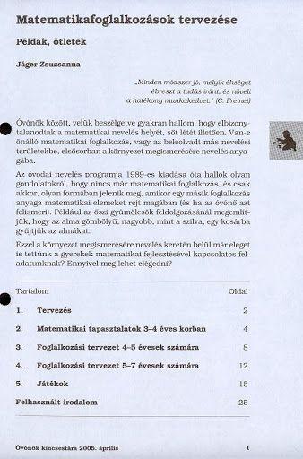 C6-15 - Matematikafoglalkozások tervezése - Angela Lakatos - Picasa Webalbumok