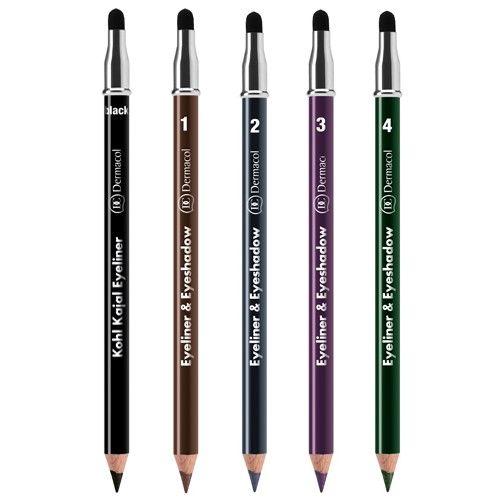 Dermacol Kajalová tužka a oční stíny 2 v 1 (Eyeliner
