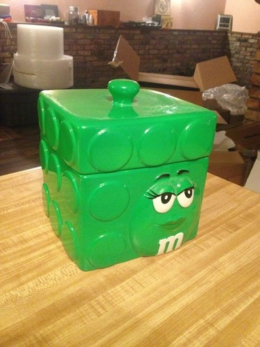Cookie Jars Green M Amp Ms And Jars On Pinterest