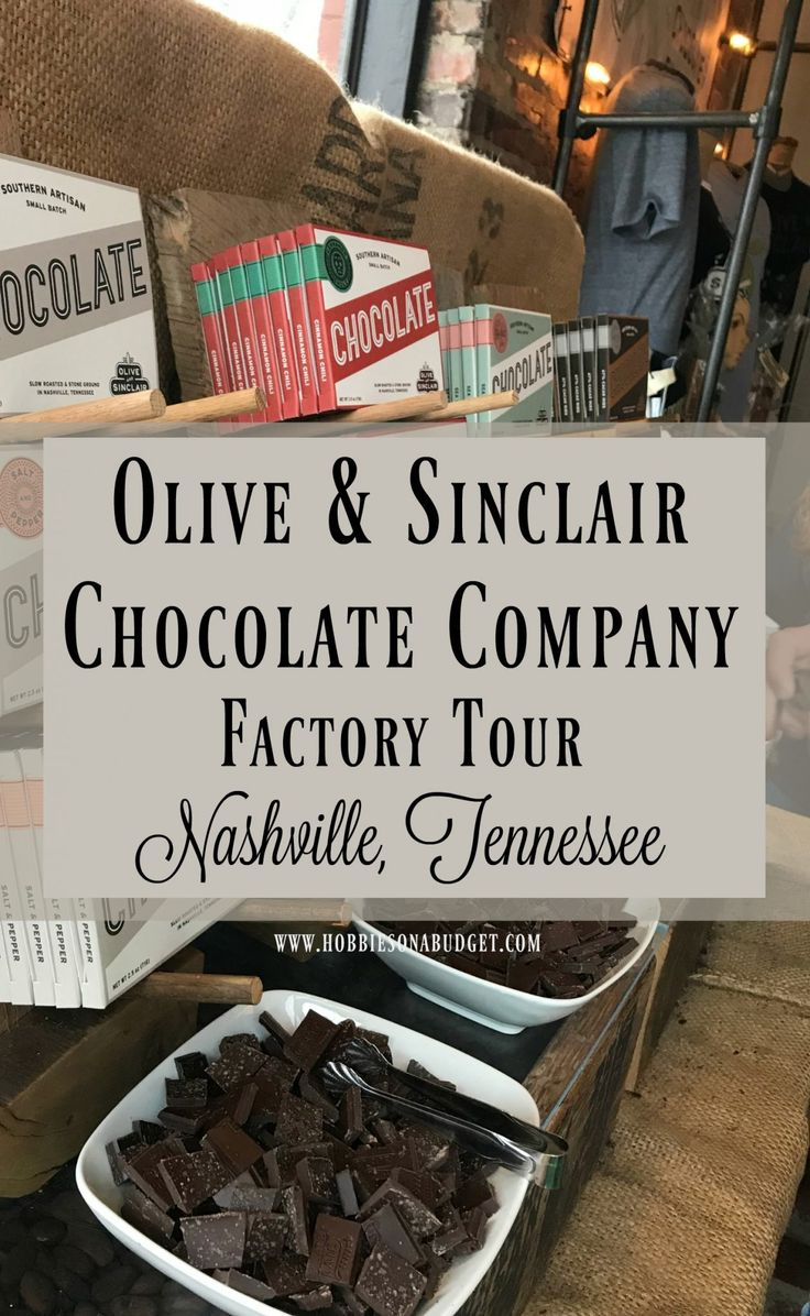 If you love dark chocolate and love seeing how things are made, then you are going to want to take a tour of the Olive & Sinclair Chocolate Factory in Nashville, Tennessee. #williamsonthego #sponsored #factorytour
