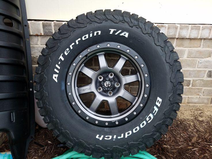 Fuel Trophy Wheels Tundra >> 18 x 9 Fuel Trophy Wheels, 35x12.50x18 BFG KO2 Tires,   Jeep Board   Pinterest   Tired, Wheels ...
