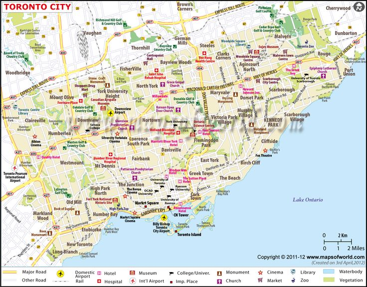 North America Map Toronto Map Usa Map Images