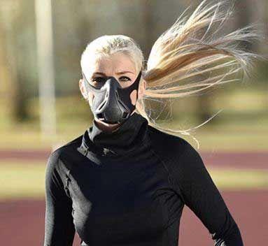 Hypoxic Mask Simulates High Altitude Training