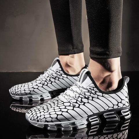 2017 <b>New Sport</b> Sneakers Running Shoes Men Black White Athletic ...