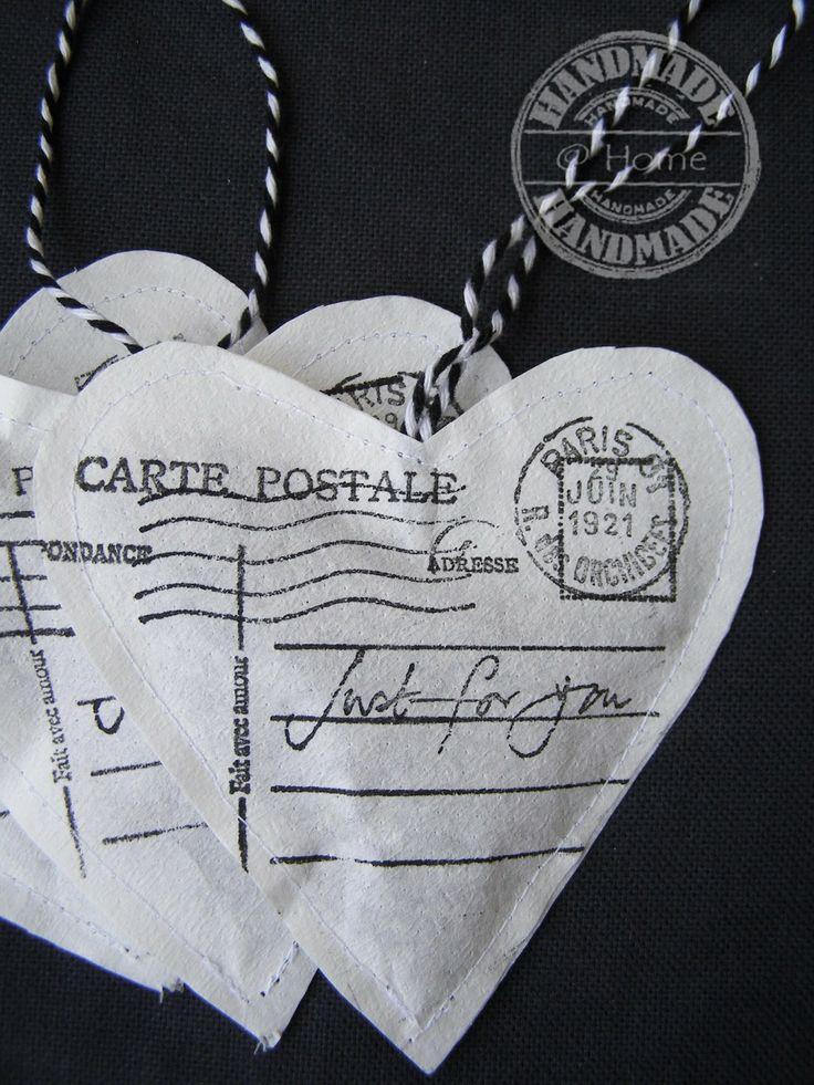 http://handmadeethome.blogspot.nl/ Heart sachets with lavender